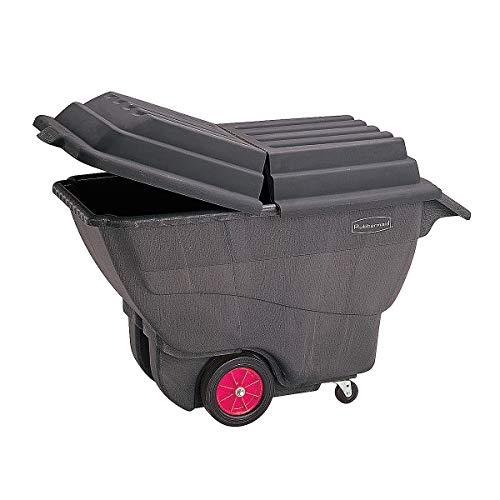 Certeo Deckel für Kunststoff-Kippkarre mit Volumen 0.6 m³ | Muldenkarre Muldenkipper Schubkarre Schubkarren Transportwagen