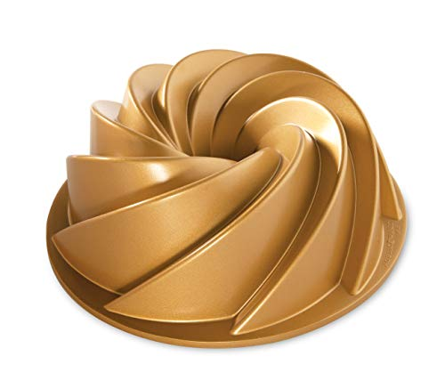 Nordic Ware Heritage Bundt Pan, One, Gold