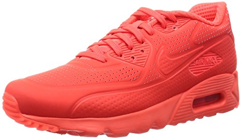 Nike Herren Air Max 90 Leather Sneakers, Rot (Brght Crmsn), 42 EU