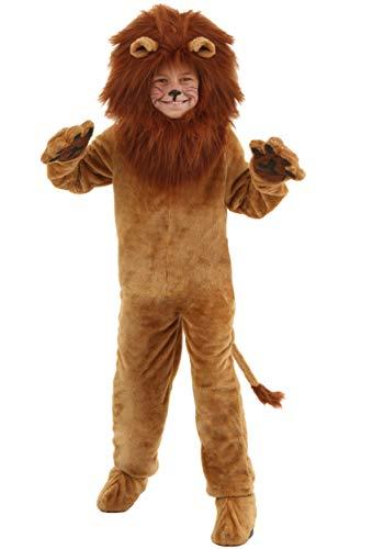 Deluxe Lion Costume for Kids Halloween Costume Medium