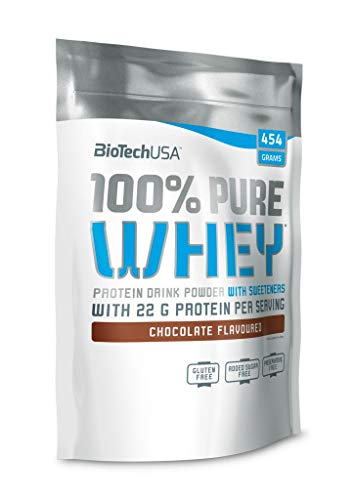 BioTechUSA 100% Pure Whey Protein Powder, Chocolate