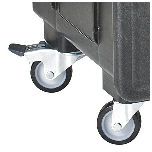 GT Line AIWHEELS 360° schwenkbare Räder, zwei mit Bremse, 4 Stück