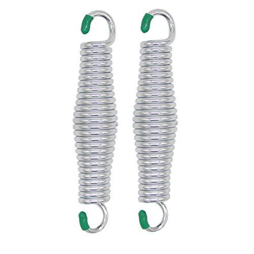 motokano Veranda-Schaukelfedern, 317,5 kg Kapazität, für schwere Aufhängungen, sicher für Hängemattenstühle oder Deckenmontage, Veranda-Schaukeln, rostbeständig