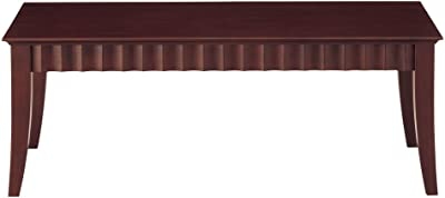 ホームデイ リビングテーブル LT-67 ダークブラウン 幅110×奥50cm