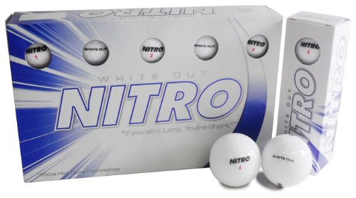 Nitro White Out Ball (15-Pack), White