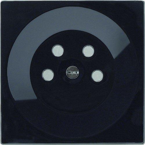 Gira 077947 afdekking KPN S, zwart