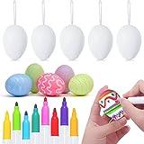 30pcs White Easter Eggs...