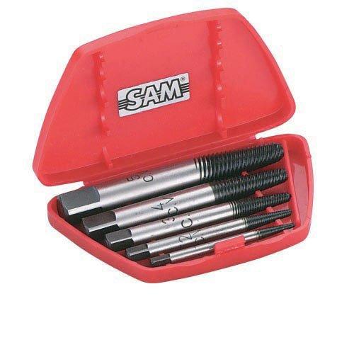 SAM Outillage 761-C-5 spiraaltrekker, meerkleurig, 5 stuks