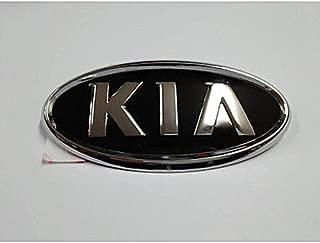 Kia Motors Genuine Front Hood Grill & Rear Trunk KIA Logo Emblem 1-pc 15cm(5.9