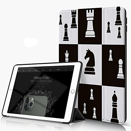 She Charm Funda para iPad 9.7 para iPad Pro 9.7 Pulgadas 2016,Día Internacional del ajedrez,Incluye Soporte magnético y Funda para Dormir/Despertar
