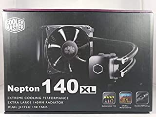 Cooler Master Nepton 140XL RL-N14X-20PK-R1 Closed Loop All-in-One Liquid CPU Cooler (B00LGNKSKC) | Amazon price tracker / tracking, Amazon price history charts, Amazon price watches, Amazon price drop alerts