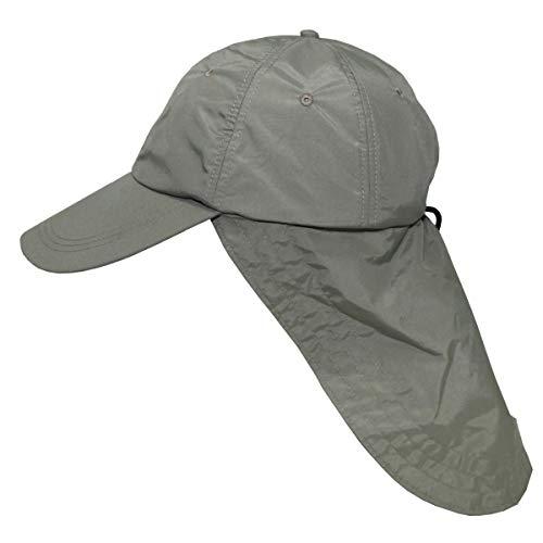 Gorra con extra largo protector de nuca