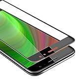 Cadorabo Película Protectora para Huawei Nova Plus en Transparente con Negro - Pantalla de Vidrio...