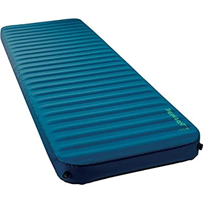 Therm-a-Rest MondoKing 3D Self-Inflating Foam Camping Mattress, TwinLock Valve, Large - 77 x 25 Inches