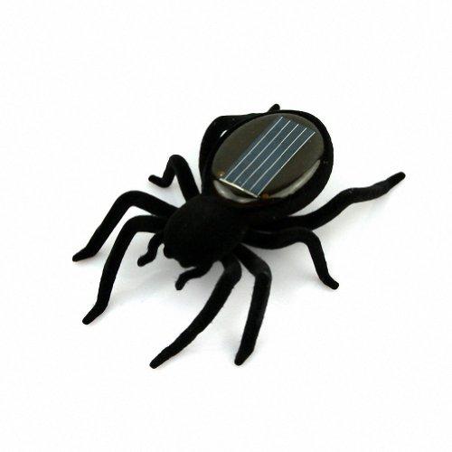 SODIAL (R) Educacion Solar Desarrollado arana robot de juguete artilugio regalo