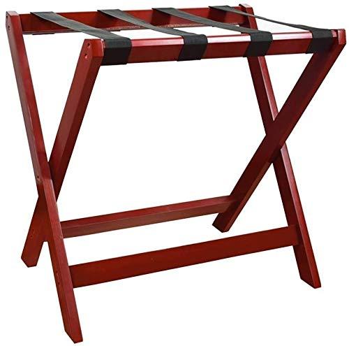 %60 OFF! HOMRanger Room Luggage Holder, Hotel Solid Wood Folding Luggage Rack, Travel Break Folding ...