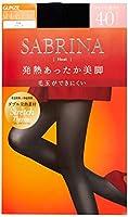 [グンゼ] タイツ SABRINA サブリナ 発熱あったか美脚 同色 2足組 40デニール SBW31 レディース ブラック 日本 M-L (日本サイズM-L相当)