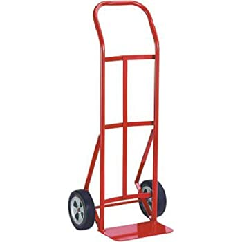 Milwaukee 47109 600-Pound Capacity Flow Back Handle Hand Truck with 8-Inch Ace Tuf Wheels