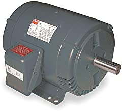 Dayton 3 HP Direct Drive Blower Motor, 3-Phase, 1725 Nameplate RPM, 208-230/460 Voltage, Frame 182T - 6XWJ0