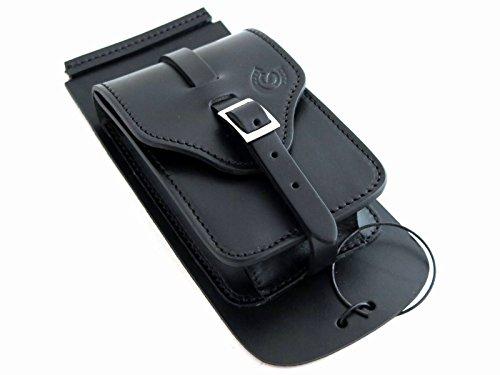 Custom Style - Bolsito de cuero artesanal para el depósito de gasolina, compatible con Harley Davidson