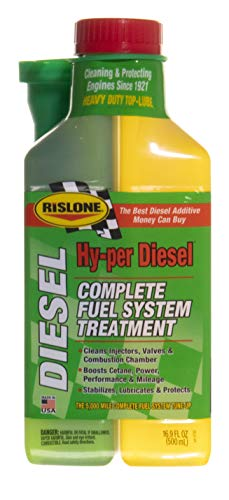 Rislone 4740 Diesel Fuel System Treatment, 16.9 oz (Pack of 1)