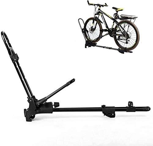 LYATW Fahrradhalterung Faltbare Fahrradträger, Aluminiumlegierung Fahrradträger for Fahrzeuge, Dachträger, Vertikal Dachträger, benutzt for Autos und Geländewagen Fahrradträger