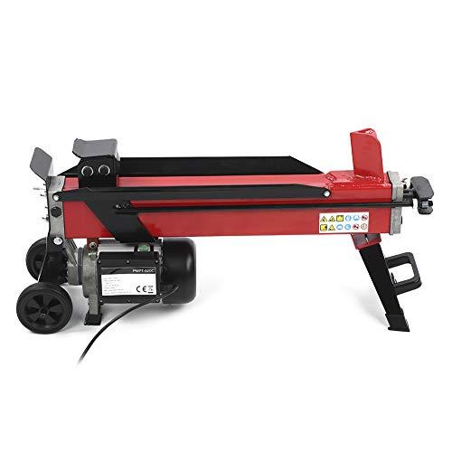 Amazing Deal Electric Hydraulic Log Splitter, Hydraulic Wood Cutter Portable Log Splitter 7-Tons Spl...