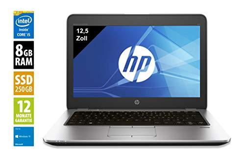 HP Elitebook 820 G3 | Notebook / Laptop | 12,5 Zoll (1920x1080) | Intel Core i5-6300U @ 2,4 GHz | 8GB DDR4 RAM | 256 GB SSD | Windows 10 Home (Generalüberholt)