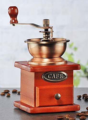 marion10020 Kaffeemühle Kaffee-Mühle Mill mit hochwertigem Keramik-Kegelmahlwerk im Nostalgie-Design