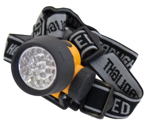 Rolson 61738 Lampe de poche frontale, 21 LED