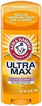6-Pack Arm & Hammer Ultra Max Deodorant Powder Fresh