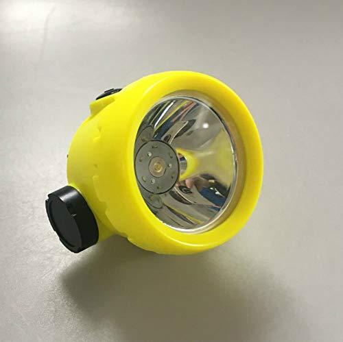 Linterna Frontal faros con cargador para la pesca de la caza minero minero lámpara de la lámpara de la mina luz de la mina