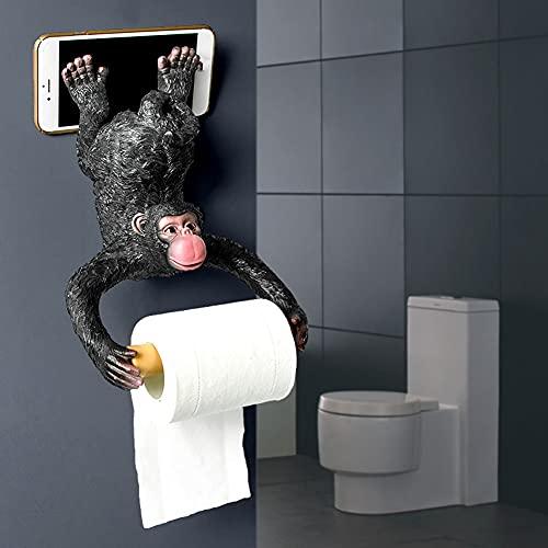 Cakunmik Tierkopf Katze Hängende Wand Papierhandtuchhalter/Stanzen Free Box Taschentücher Toilettenpapier Bad Rollenpapier Rohre Aus Unterstützung