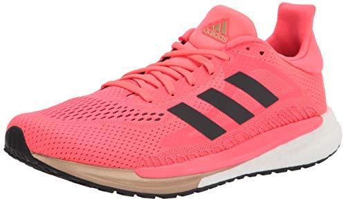 adidas Solar Glide 3 Running Shoe, Signal Pink/Core Black, 10.5