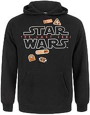 Vanille Ondergrondse Star Wars De Laatste Jedi Badges Heren Hoodie