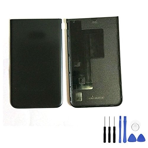 Back Battery Cover for Samsung Galaxy J7 2017 J727 - Black Housing Rear Bezel Door with Frame+Tools for for Galaxy J7 2017 SM-J727 J727R4 J727P SM-J727A & J7 Sky Pro &J7 Prime 2017 (Fit for Verizon)