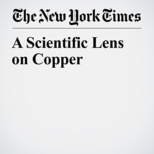 A Scientific Lens on Copper copertina