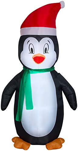 Gemmy Christmas Inflatable 7' Penguin | Airblown Inflatable