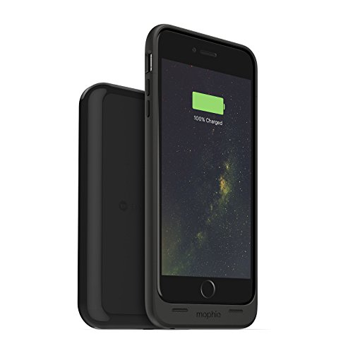 mophie juice pack wireless and charging base - Charge Force - Wireless Charging Protective Battery Pack Case and Magnetic Charging Base for iPhone 6 Plus/6S Plus – Black (Renewed)