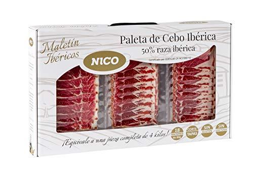 MALETÍN DE SOBRES DE PALETA IBÉRICA 18 SOBRES