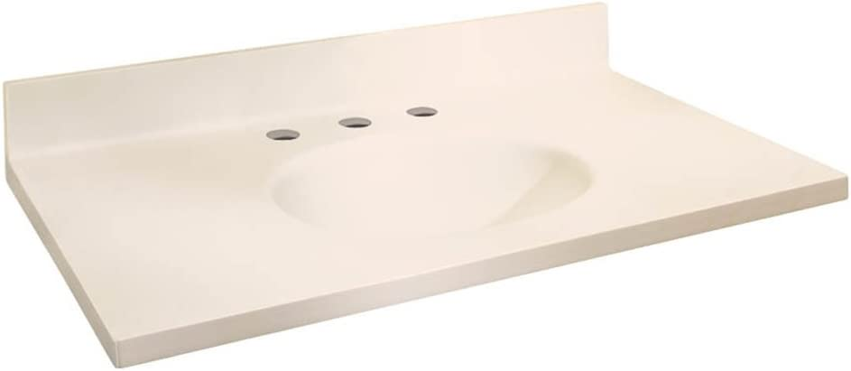 Samson ITB6122-02-8 Solid Surface Austin Mall 61x22 Top with Dallas Mall Chelsea Vanity