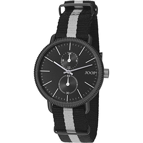 Joop! Herren-Armbanduhr Matthew Analog Quarz Textil JP101731002