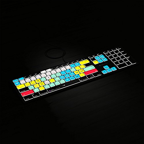 Adobe Premiere Pro CC Keyboard | Backlit Mac MacOS Edition | Editors Keys Shortcut Keyboard
