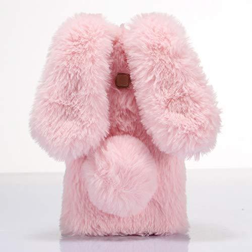 ZhiYueQun 3D Coniglio Fashion Style TPU Silicone Caso per Samsung Galaxy Grand Prime PRO Gel Shell Case Copertina Custodia Protettiva Cover Rosa
