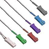 Cables de cable para altavoz de 4,2 mm, conectores de cable para Panasonic/Sony/Pioneer Home Theatre Cinema DVD Blu Ray, 6 unidades
