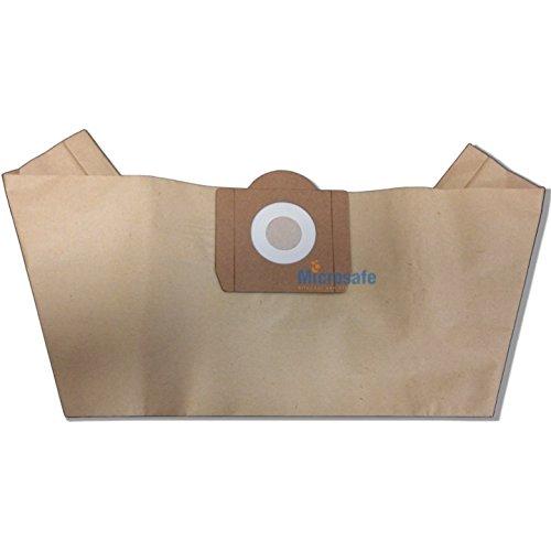 Microsafe® - 20 Filterpapier Staubsaugerbeutel passend für Go/on! NT 1300 i