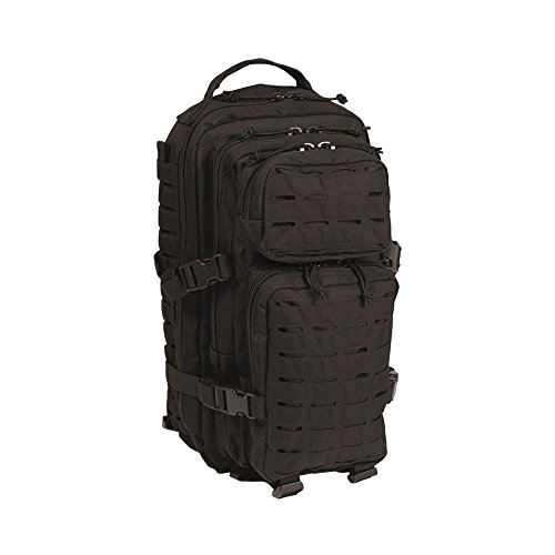 Mil-Tec Sac à Dos US Assault Pack SM Laser Cut Noir