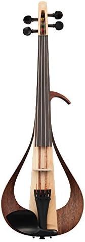 Yamaha Electric Violin-YEV104NT, Natural (YEV104NT)