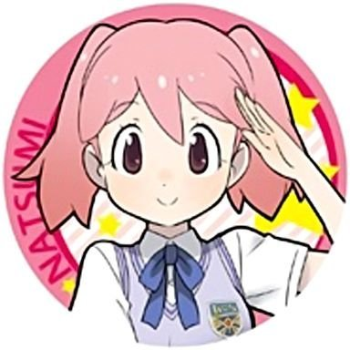 ケロロ軍曹 日向夏美 缶バッジ 単品