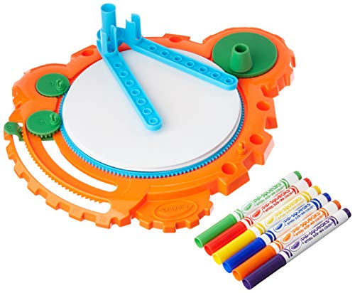 Crayola; Color Spinout; Marker Art Activity and Art Tool; Spin to Create Colorful Designs; Makes a Great Gift